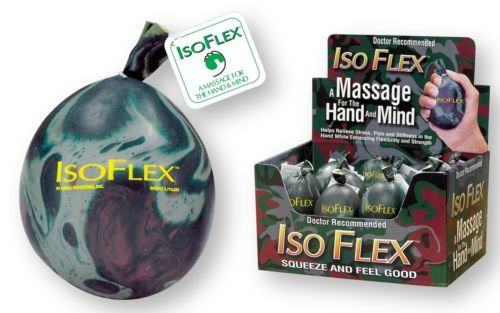 Squeezable Stress Relievers: Isoflex 32035 Isoflex™ Camo Design Stress Ball - Pk 24 -> BUY IT NOW ONLY: $53.13 on eBay!