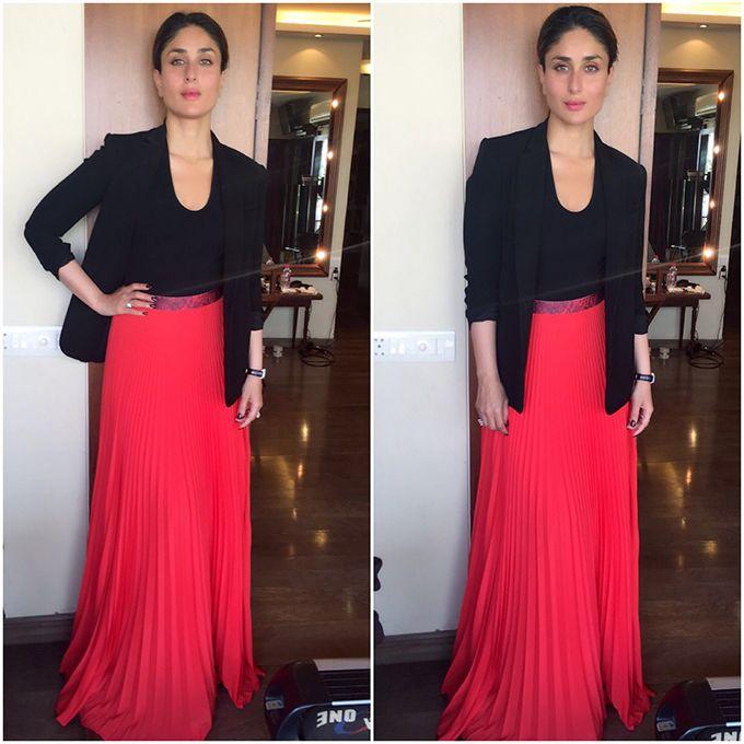 Tanya Ghavri is a genius. Styled by her!