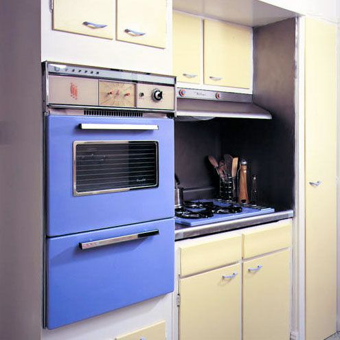 The $30 Kitchen Makeover U2014 Sunset. Painted AppliancesRetro ... Nice Look