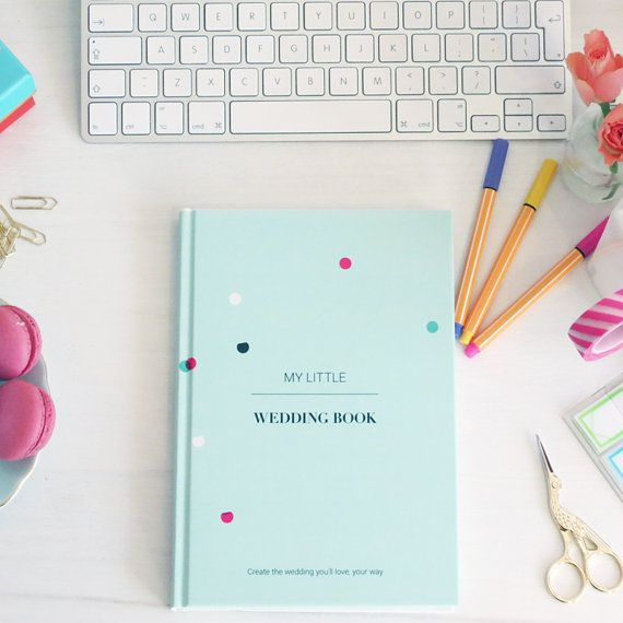 Wedding Planning Guide Journal Notebook by myLittleWeddingBook