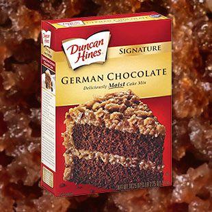 Duncan Hines 174 German Chocolate Cake Mix Makes It A Breeze