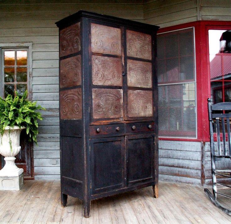 678 Best Pie Safe Images On Pinterest Antique Furniture