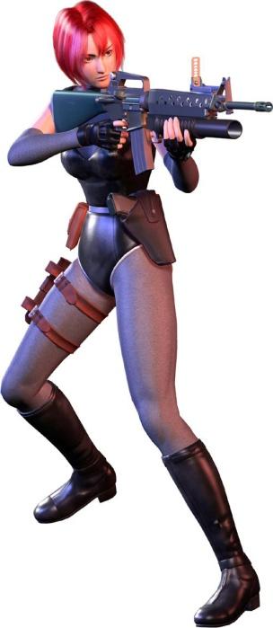 """Regina - The """"Dino Crisis"""" Series (1999-2000) Capcom"""