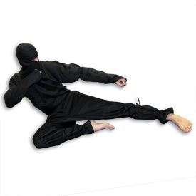 Black Ninja Uniform available at KarateMart.com!