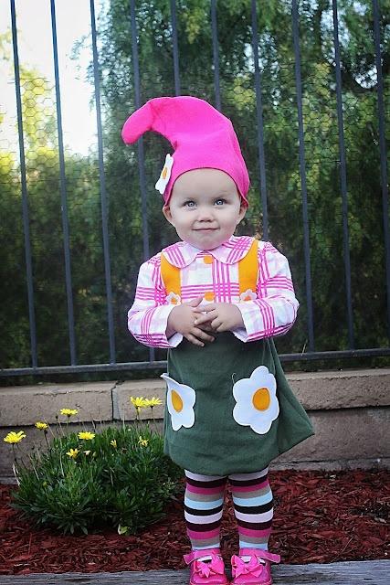 Adorable munchkin costume.