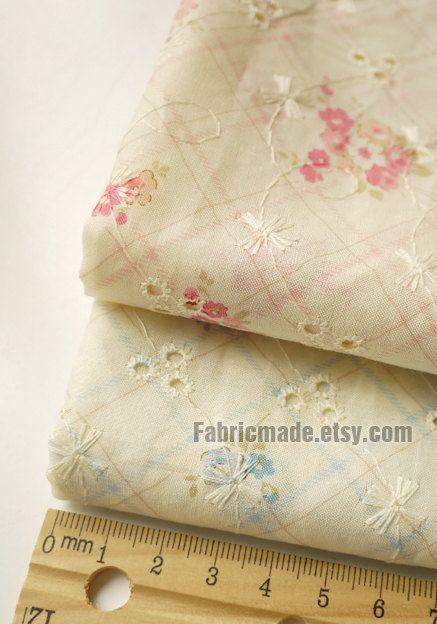 61 best tissu pour rideau images on pinterest cotton for Tissu shabby chic