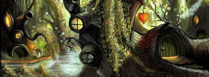 Phantasiereise in den maerchenhaften Wald des Garls, ein zwergenhafter Waldbewohner und einer Elfe. Mit Anteilen des autogenen Trainings und Kindheitsbezug