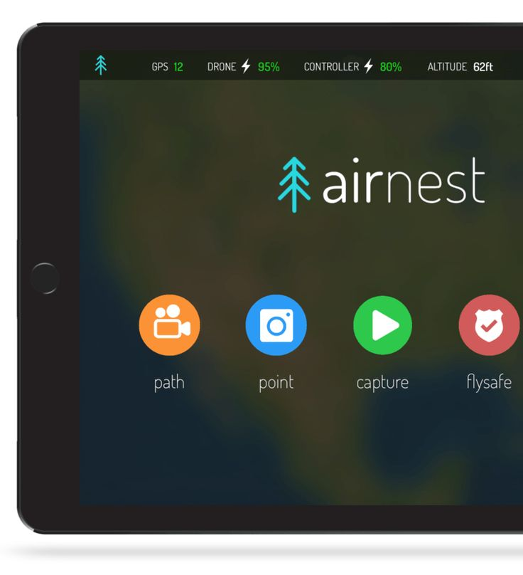 Airnest Launches First Third-Party Drone App for DJI's Phantom 3 Standard, 4K, and the Inspire 1 Pro