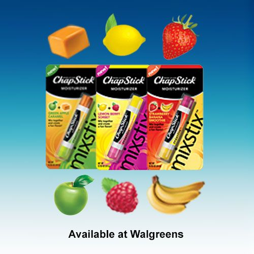 ChapStick® MixStix™ Cute! No Shea like in those egg shaped lip balms.