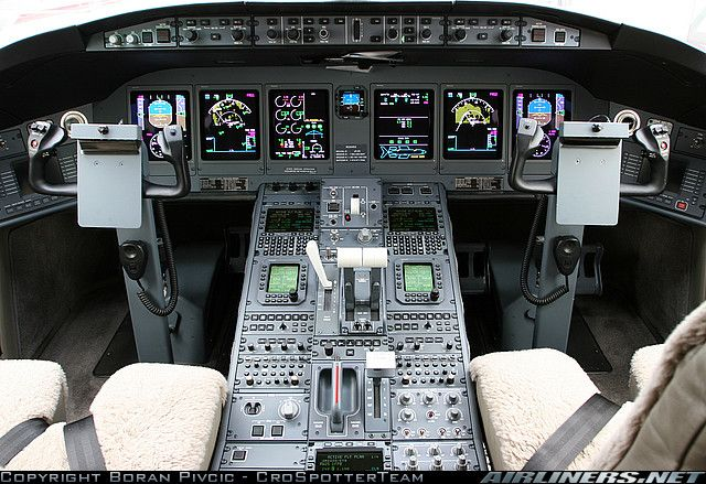 Bombardier BD-700 Global Express cockpit   Aviation   Pinterest