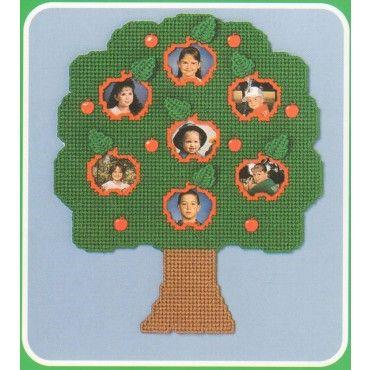 School Family Tree Photo Holder Pattern