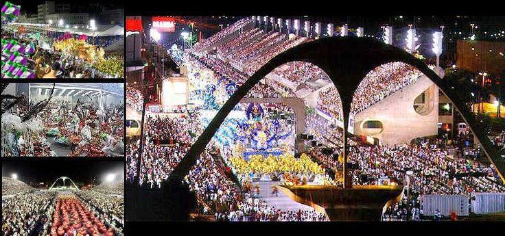 Sambodromo do Rio ou Passarela do Samba - Marques de Sapucai