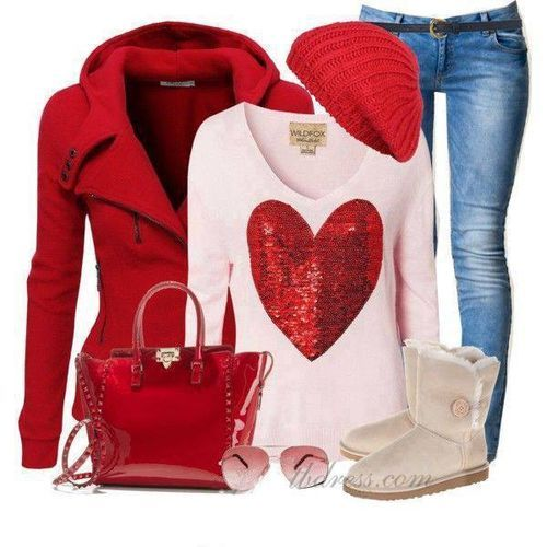 17 Best images about Valentineu0026#39;s Day Fashion on Pinterest | Ideas for valentines day Valentine ...