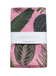 FoliageOnPink_TableRunner    www.handmadebyme.co.za