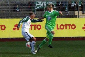 29. Oktober 2012, Frauen-Bundesliga, VfL Wolfsburg vs FCR Duisburg 4:0