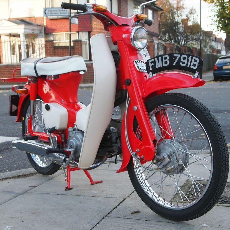 1964 Honda C100 Classic Rare Vintage 50cc Simular Z50, UK Bike, Starts And Rides