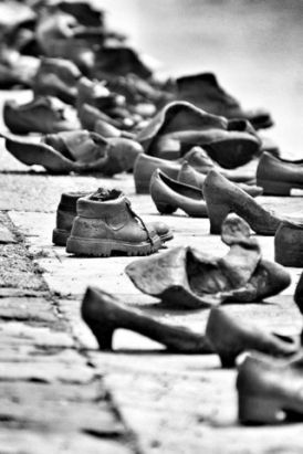 """""""Shoes on The Danube"""" by Phil Watkins. 