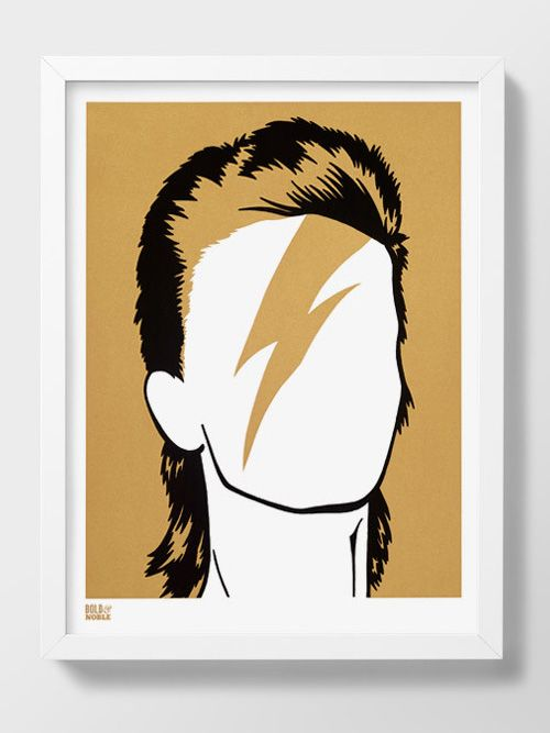 Bowie Print | Hello Polly