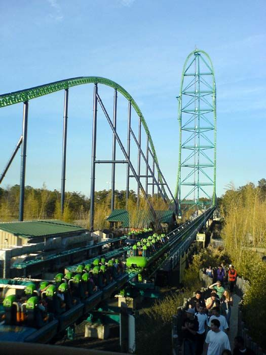 Rode the world's tallest roller coaster, Kingda Ka at Six Flags Great Adventure