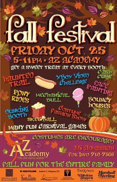 Az Academy S Fall Festival On St Croix U S Virgin