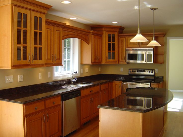 17 Best images about Home Re Due on Pinterest   Honey oak cabinets ...