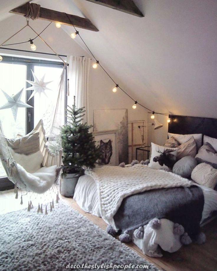 Modernes Gemütliches Schlafzimmer