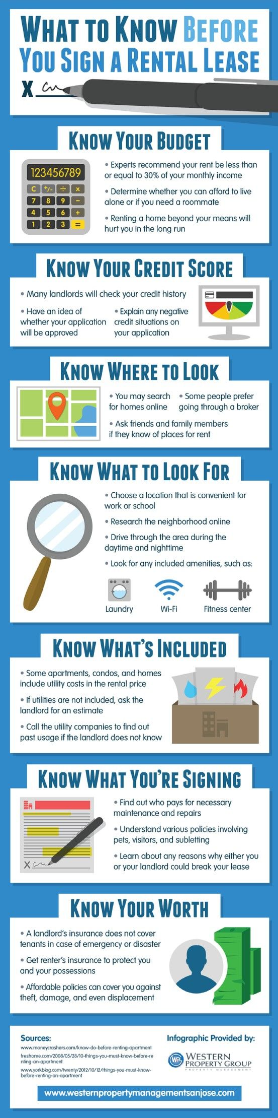[Infographic] What to Know Before You Sign a Rental Lease