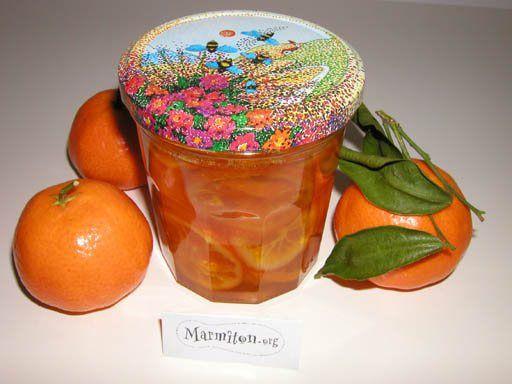 confiture de mandarines - Recette de cuisine Marmiton : une recette