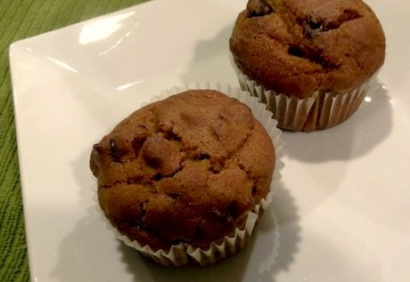 cranberry chocolate chip pumpkin muffin recipe (attempting to replicate Firehook's cranberry pumpkin bread; delicious! just don't overbake them)