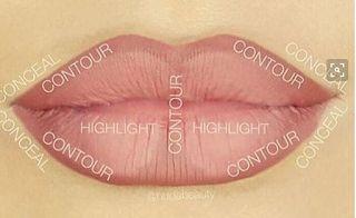 zlato.oriflame: макияж губ