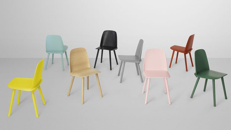 ah the colours...  Nerd chair by David Geckeler for Muuto