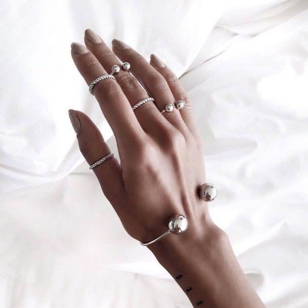 jewels silver tumblr bracelets silver bracelet arm bracelet silver jewelry knuckle ring ring silver ring minimalist minimalist jewelry