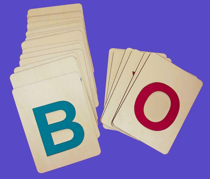 Kartičky abeceda velká tiskací