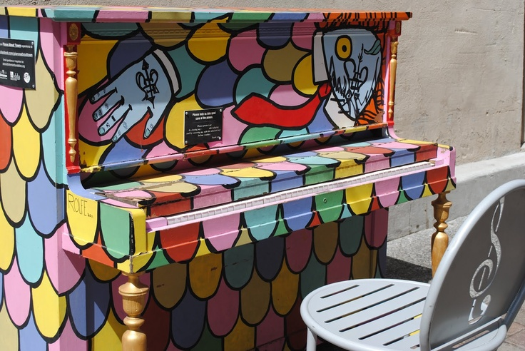 Choice City Native: P: Painted Pianos