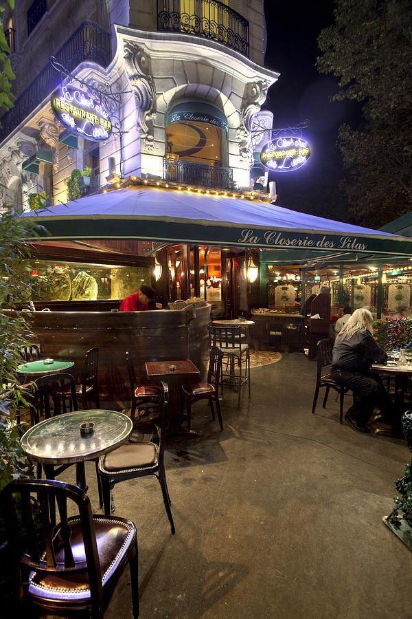 La Closerie Des Lilas, Paris  - How fun is this place?  ASPEN CREEK TRAVEL - karen@aspencreektravel.com