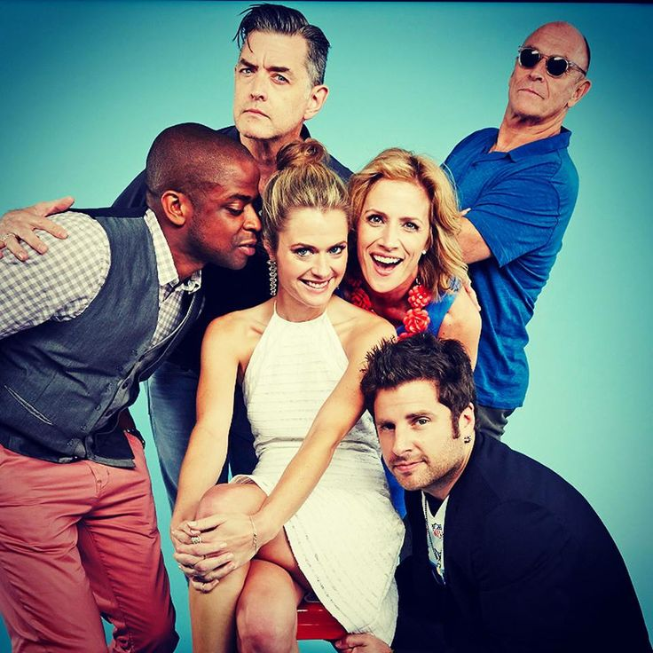 Psych James Roday Dulé Hill Maggie Lawson - love love love love love this show :) Thank goodness I have Netflix lol -sr