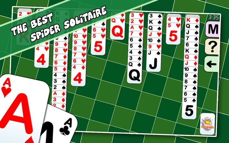 Free spider solitaire 2.1 new