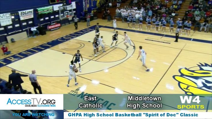 "This is the East Catholic High School vs. Middletown High School contest from the third annual Greater Hartford Pro-Am Youth High School Basketball Classic ""The Spirit of DOC"" Held at Trinity College in Hartford Connecticut.  Events, news, entertainment, and views in your community!  Now there is something worth watching on Social Media!  Watch it • Like it • Share it • with Colleagues, family, friends, and foe, that way you can help keep them in the know. AccessTVnetwork.com  –…"