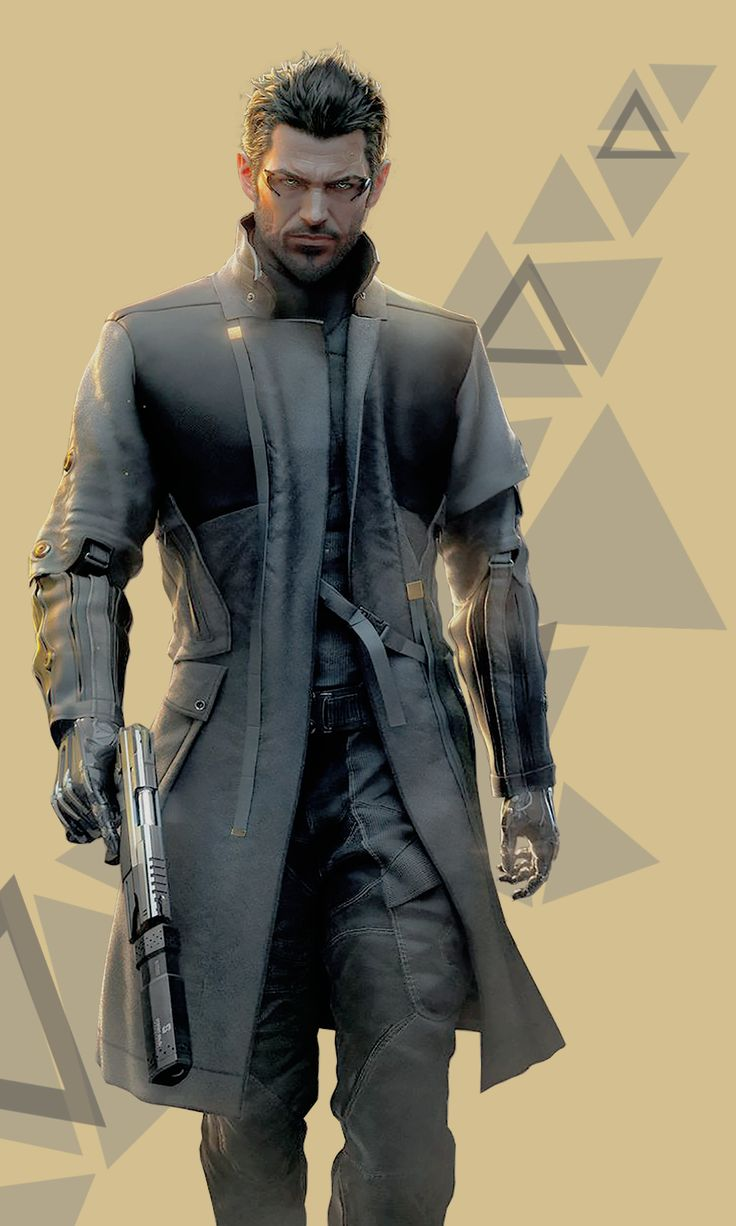 Adam Jensen from Deus Ex Mankind Divided