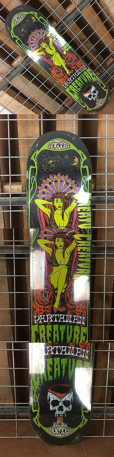 Decks 16263: New Creature Multi Color Hesh Trippers Pro Skateboard Deck - 31.9In X 8.2In -> BUY IT NOW ONLY: $44.95 on eBay!