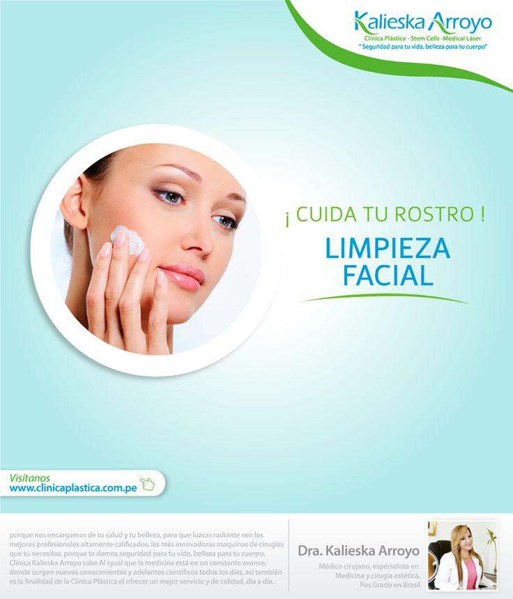 Kalieska Arroyo   Cuida tu rostros, limpieza facial