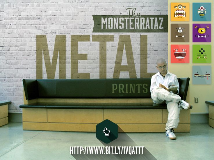 The Monsterrataz Metal Prints by Cooglis Angelopoulos