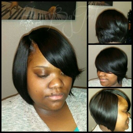 106 best weaves images on pinterest hairstyles hair and beauty bob life black hair quick weave no leave out natural looking pmusecretfo Gallery