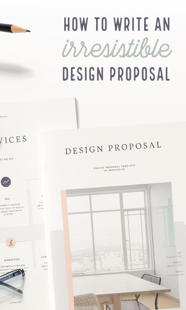 On the Creative Market Blog - How to Write a Design Proposal: The Ultimate Guide