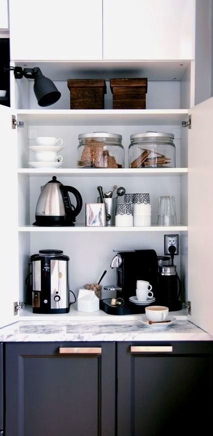 Nice floating shelves!