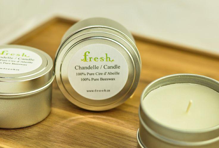 Organic Beeswax Candle