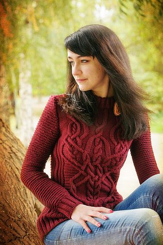 love this cable sweater