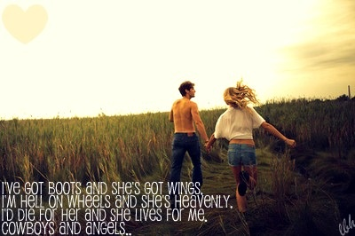 """Cowboys and Angels"" -Dustin LynchLets Running Away, Countryboys, Quotes, Back Roads, Engagement Photos, Country Boys, Summer Romances, Engagement Pics, Holding Hands"
