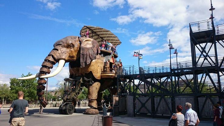 Nantes - éléphant les machines de l'île steampunk