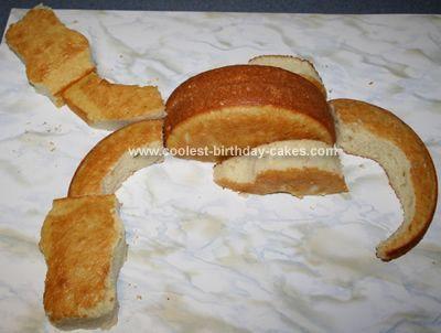Double headed Dragon Cake
